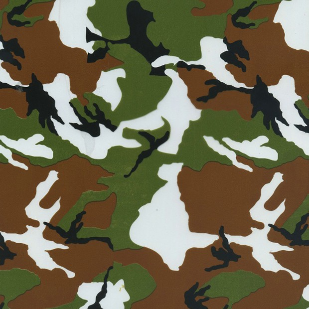 HYDROGRAPHIC FILM WATER TRANSFER HYDRODIPPING HYDRO DIP ARMY CAMO BLUE 1M