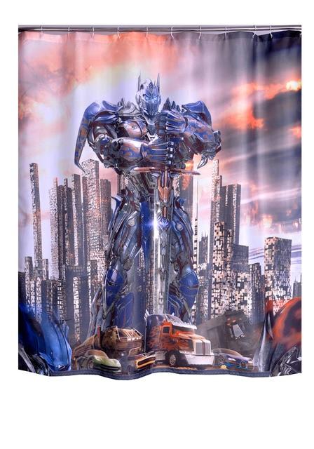 Badkamer Producten Polyester Stof Transformers Gedrukt