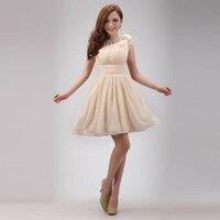 The Bride Married One Shoulder Dress Evening Dress Short Formal Dress Prom Dress Oblique Evening Dress