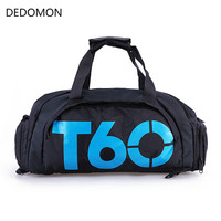2017 New Brand Women Gym Bags T60 Waterproof Outdoor Men Luggage Travel Bag Backpack Multifunctional Sport