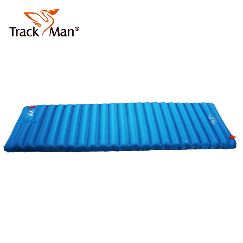Trackman Inflatable Camping Mat No Pump Outdoor Camp Tent Sleeping Pad Breathable Damp proof Single Air