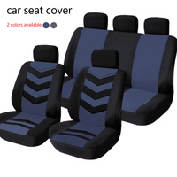 Dewtreetali Universal Car Front Seat Cover Sandwich Four Seasons Seat Protector Cushion Cover Car Styling Fit Most Auto Car SUV