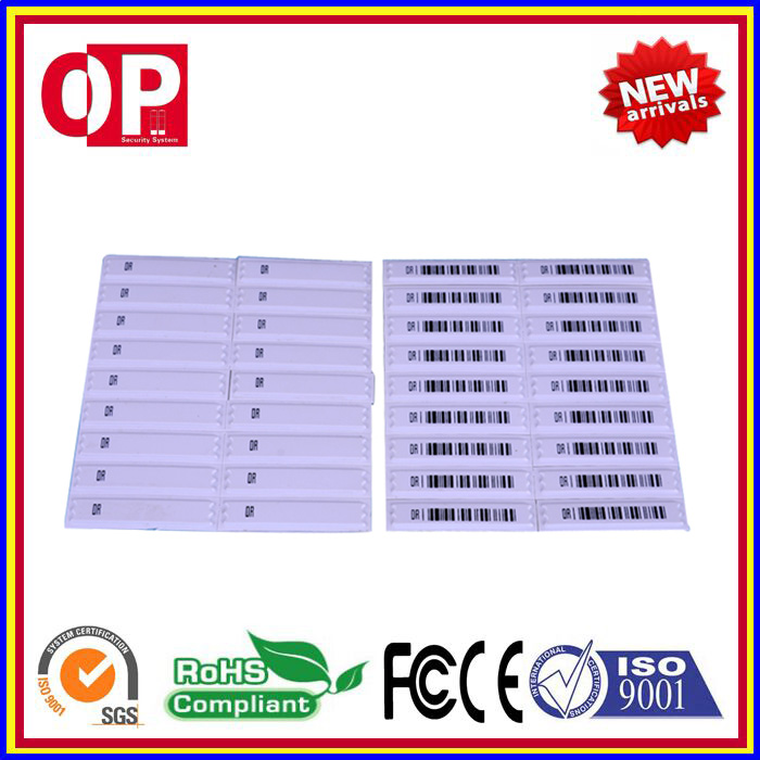 Hot Selling 1000pcs EAS DR AM Soft Labels 58KHz Retail Security Labels For Supermarket And Retail Store