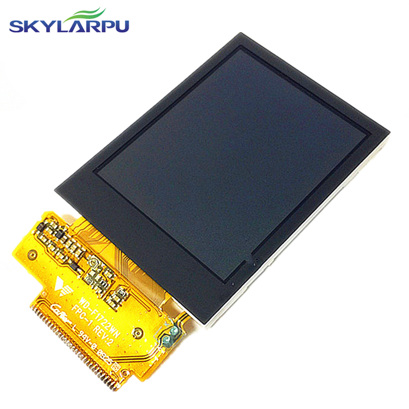 skylarpu 2.2 inch WD-F1722WN FPC-1 REV:2 LCD screen for Garmin edge 705 GPS Bike Computer LCD display screen panel replacement tq7037cust fpc lcd displays screen