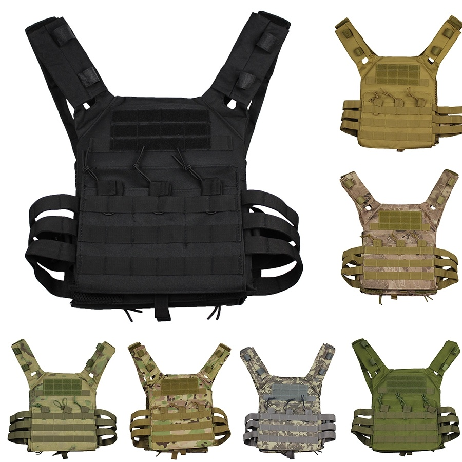 Hunting Tactical Vest Military Molle Plate Carrier Magazine Airsoft Paintball CS Outdoor Protective Lightweight Vest