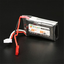 New Arrival XF Power 7.4V 600mAh 2S 30C Lipo Battery JST Plug Recharge Battery For RC Toys Models