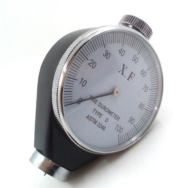 Durómetro Shore D, probador de dureza D para caucho duro, resina, acrílico, vidrio, caucho termoplástico, placas de impresión, fibras