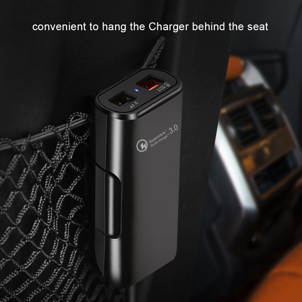 QC3 0 Quick filling Car Charger For Mobile Phone Tablet GPS 3 1A Fast Charger Car Charger Dual USB Car Phone Charger Adapter in Cables Adapters Sockets from Automobiles Motorcycles