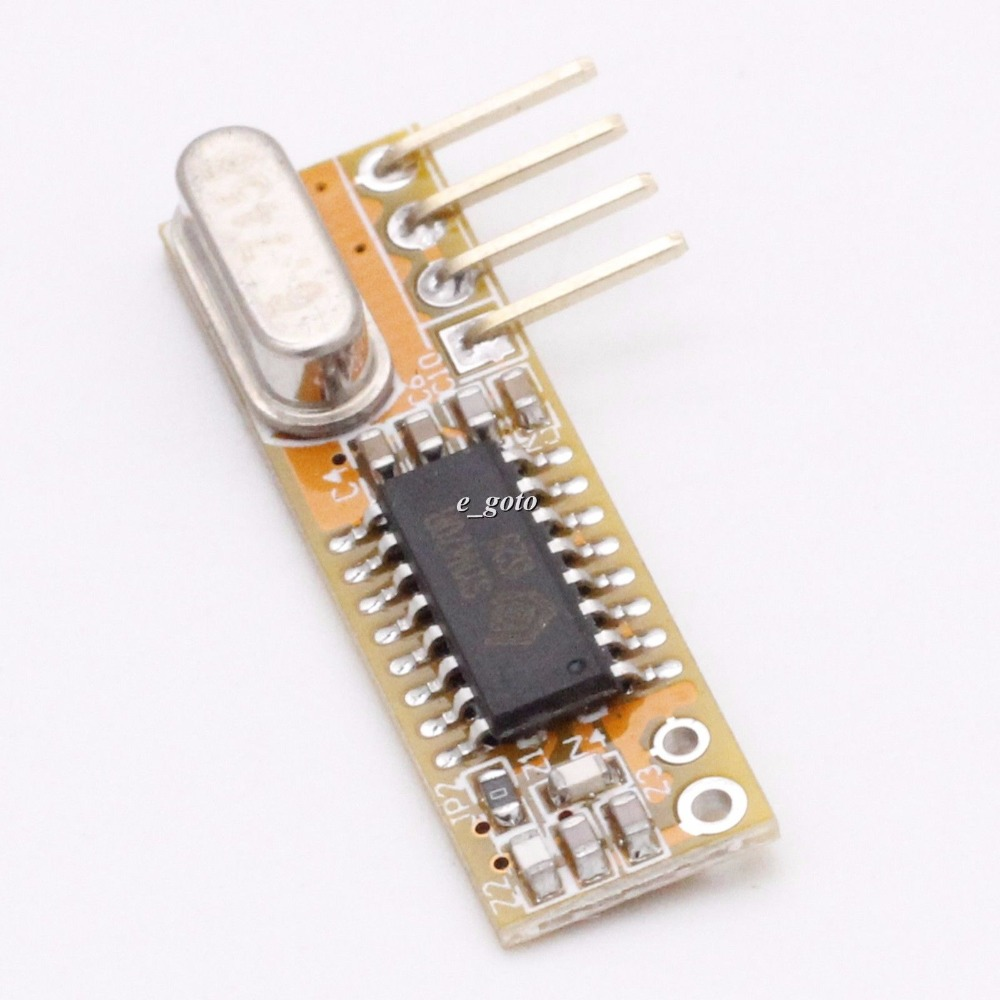 RXB12 433Mhz Superheterodyne Wireless <font><b>Receiver</b></font> Precise for Arduino <font><b>AVR</b></font> image
