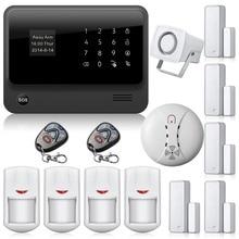 Беспроводной Дверной Датчик PIR Motion detector Дистанционного управления G90B GPRS WIFI GSM Сигнализация Совместимость WI-FI Ip-камера APP