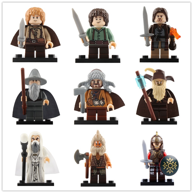 Legoed Lord Of The Rings Action Minifigured Building Blocks Gift Bricks Kit Toys For Children CP8160