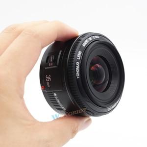 Image 3 - YONGNUO YN 35mm F2 Camera Lens voor Nikon Canon EOS YN35MM Lenzen AF MF Groothoek Lens voor 600D 60D 5DII 5D 500D 400D 650D 6D 7D