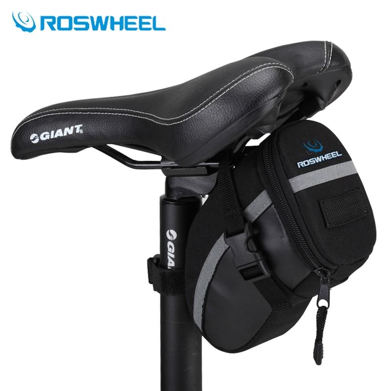 Outdoor road bicycle saddle bag mountain Seatpost Bag mtb bike bag ...