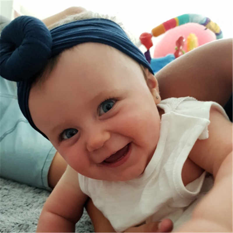 1Pc น่ารักเด็กทารก Headband เด็กวัยหัดเดินเด็กทารก Headbands ยืด Hairband Headwear เด็กอุปกรณ์เสริมผม Bandeau Bebe ผู้หญิง