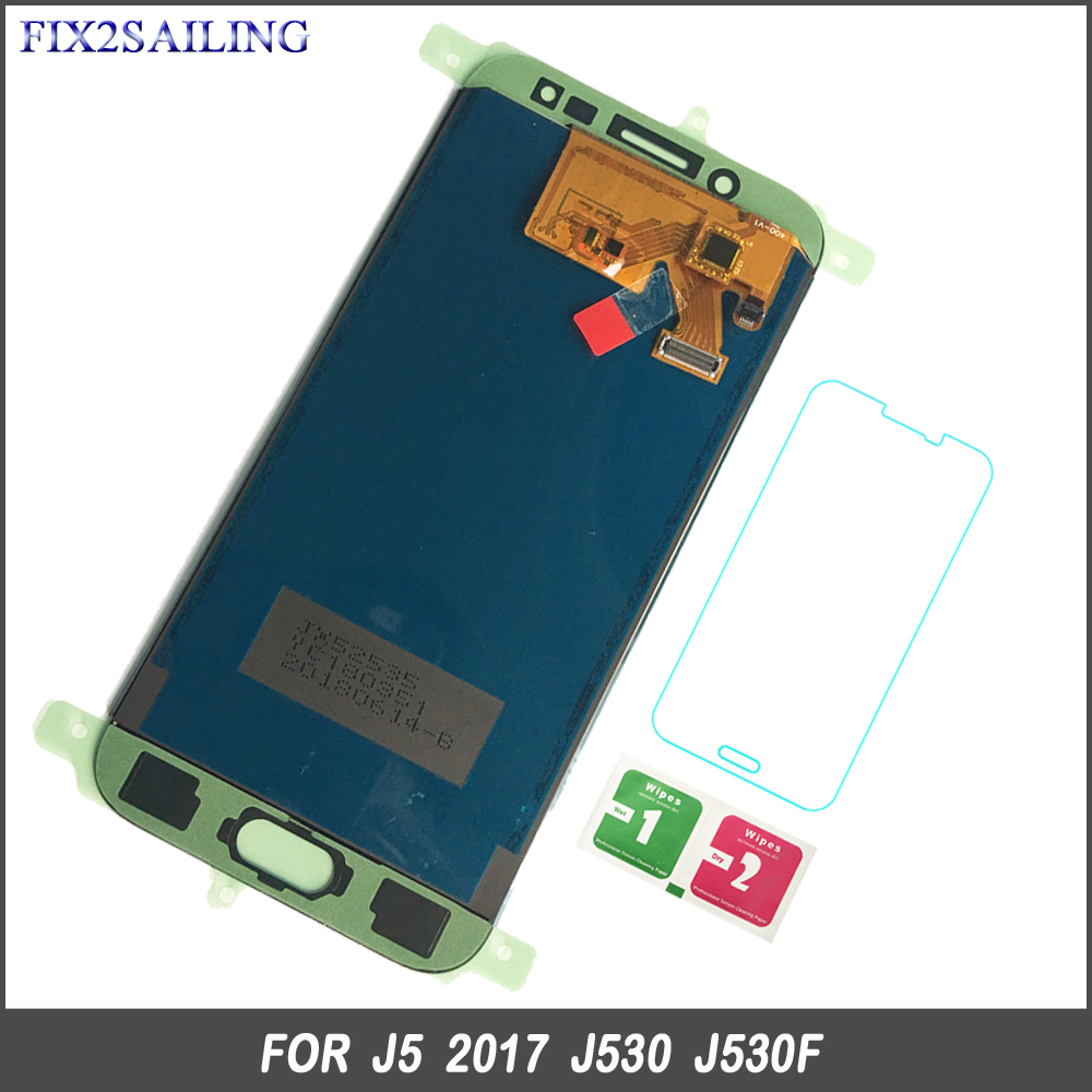 FIX2SAILING LCD For Samsung J530 LCD Touch Screen Digitizer Assembly For Samsung Galaxy J5 Pro 2017 J530 J530F J530FM AdjustableFIX2SAILING LCD For Samsung J530 LCD Touch Screen Digitizer Assembly For Samsung Galaxy J5 Pro 2017 J530 J530F J530FM Adjustable