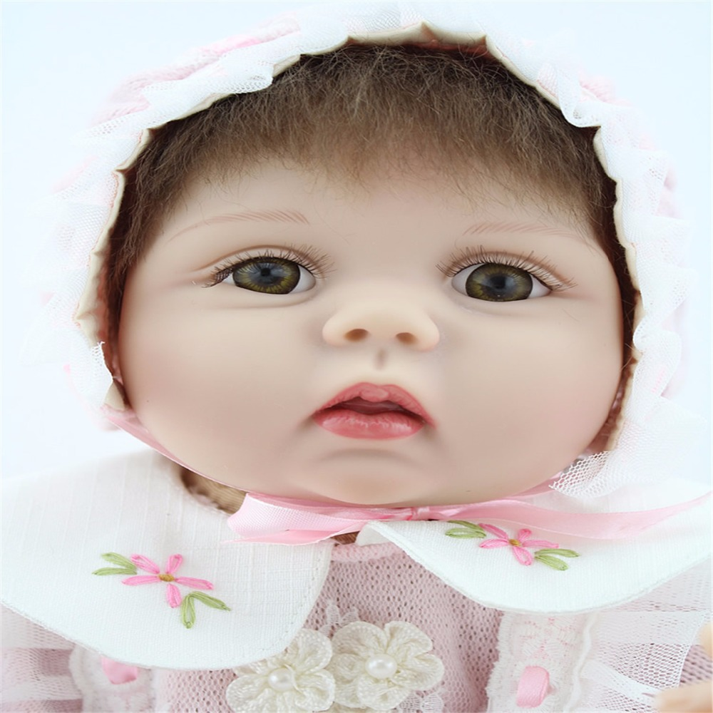 22inch 55cm Silicone baby reborn dolls, lifelike doll reborn babies toys for girl princess gift brinquedos Children's toys hot sale toys 45cm pelucia hello kitty dolls toys for children girl gift baby toys plush classic toys brinquedos valentine gifts