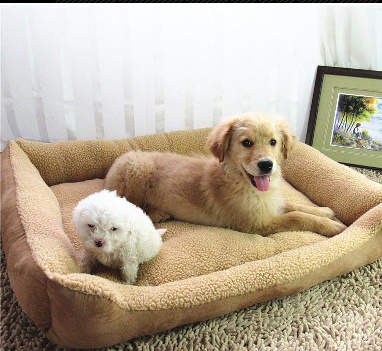 Big qen i madh shtesë i përkëdhelur për kafshë shtrati luksoz - Produkte për kafshet shtëpiake - Foto 1