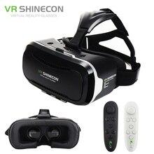 Shinecon VR 2.0 Google Cardboard Mobile 3D Virtual Reality Glasses Headset Immersive Helmet vr box Head Mount For 4.7-6′ Phone