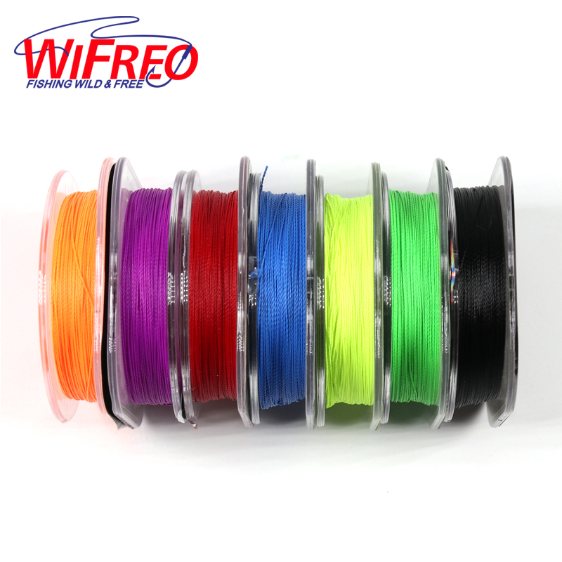 Wifreo 50m/spool 200D Bright Color Rod Wrapping Cotton Thread For Baitcast / Fly Fishing Rod Building Rod Repairing Line