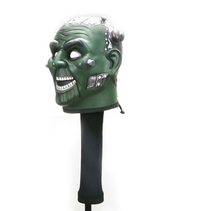 Image 3 - Skullกอล์ฟคลับHeadcover Golf Driver Protectorครอบคลุมอุปกรณ์กอล์ฟ