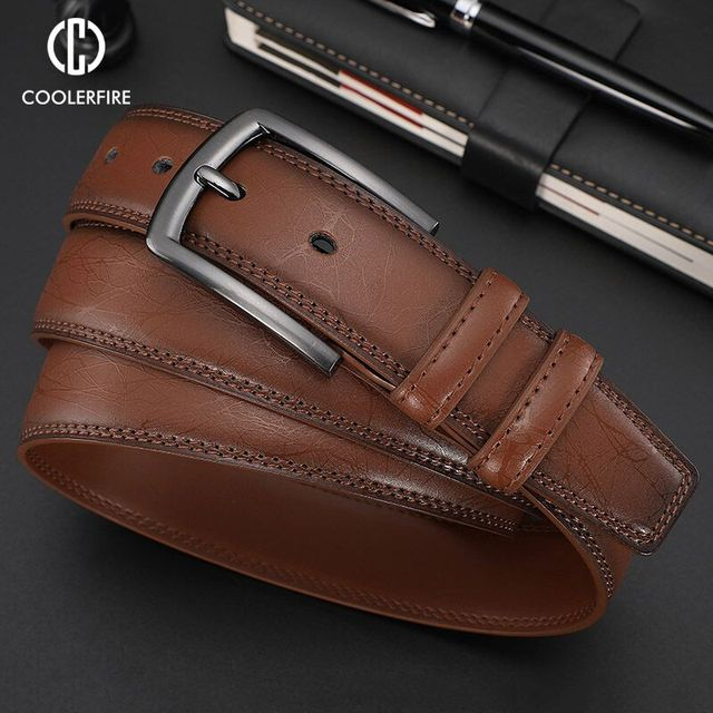 Business Leather Belt 2
