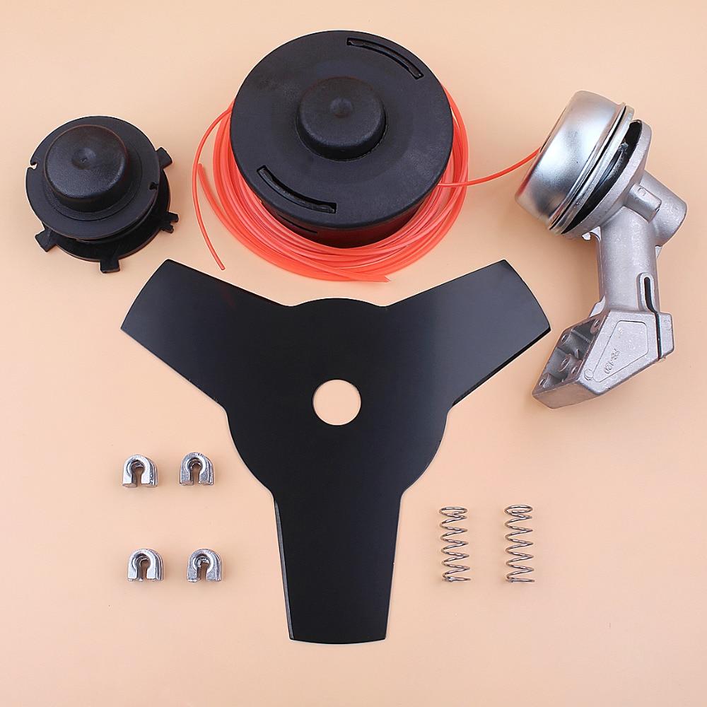 Kit de ligne de lame de bobine de boîte de vitesse de tête d'engrenage pour STIHL FS120 FS200 FS250 FS55 FS75 FS80 FS85 pièces de débroussailleuse de coupe gazon