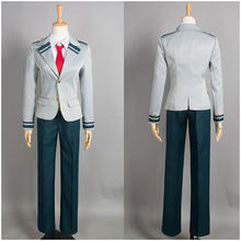 My Hero Academia OCHACO URARAKA Midoriya Izuku Cosplay Costume Boku no Hero Academia AsuiTsuyu Yaoyorozu Momo Uniform Full Sets(China)