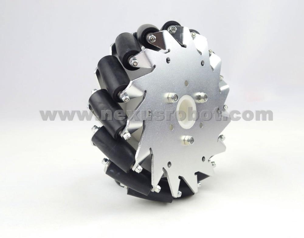 152mm Aluminium Mecanum Wheel Left 14095 оголовок скважинный unipump 152 40 акваробот