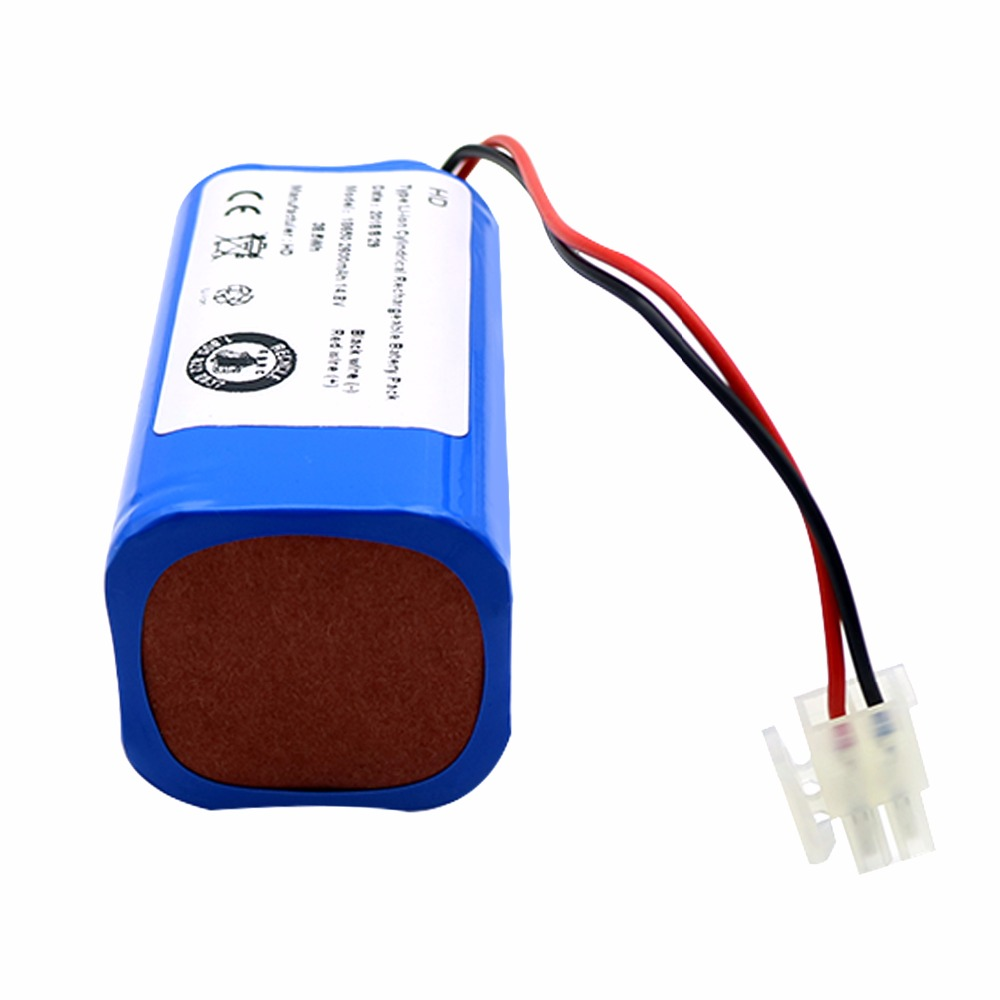 Home Appliances 14.8v 2600mah Robot Vacuum Cleaner Battery Pack Replacement For Chuwi Ilife V7 V7s Pro Robotic Sweeper High Quality