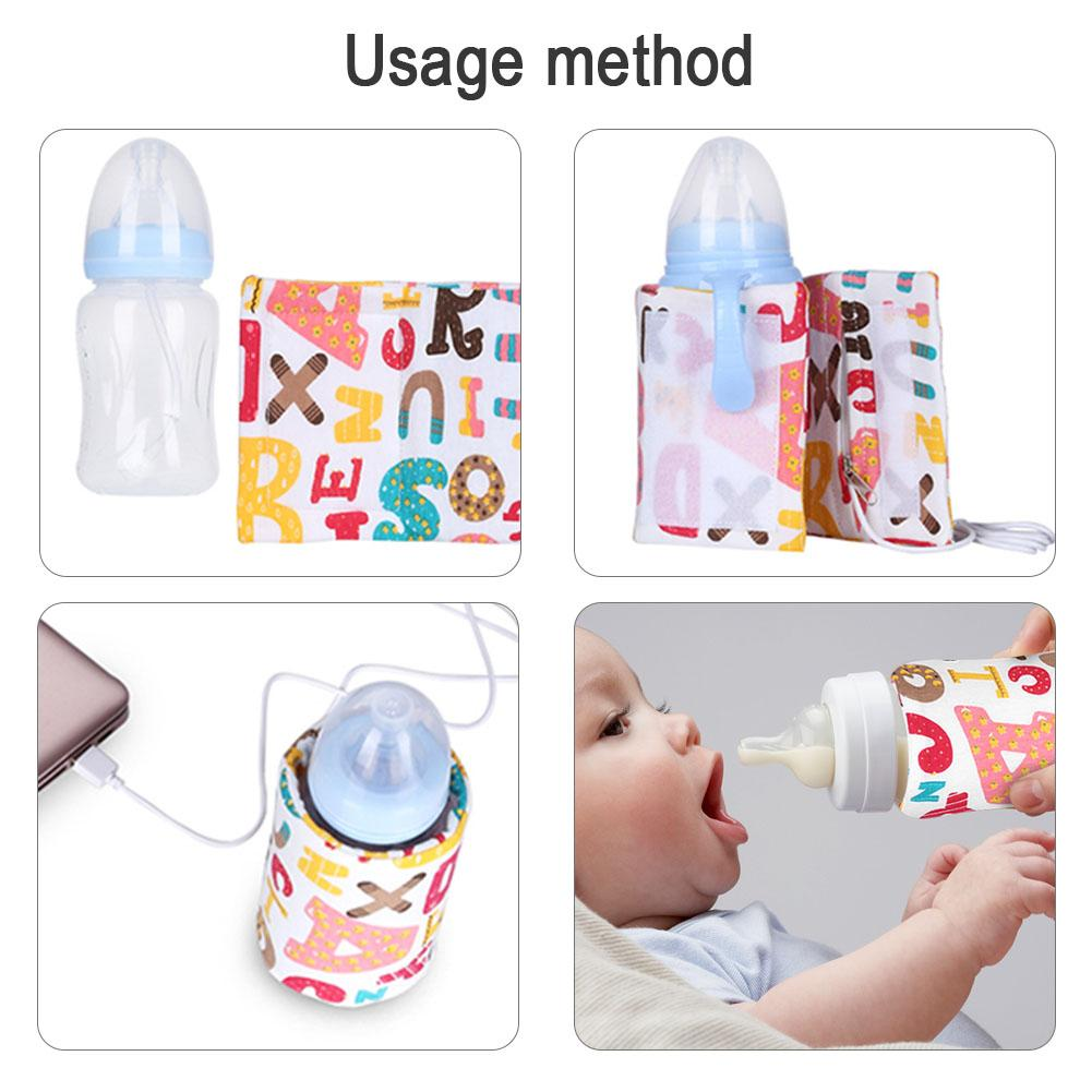 Baby Feeding Milk Bottle Insulation Cover Holder Feeder Thermal Bag Warmer Toy Q