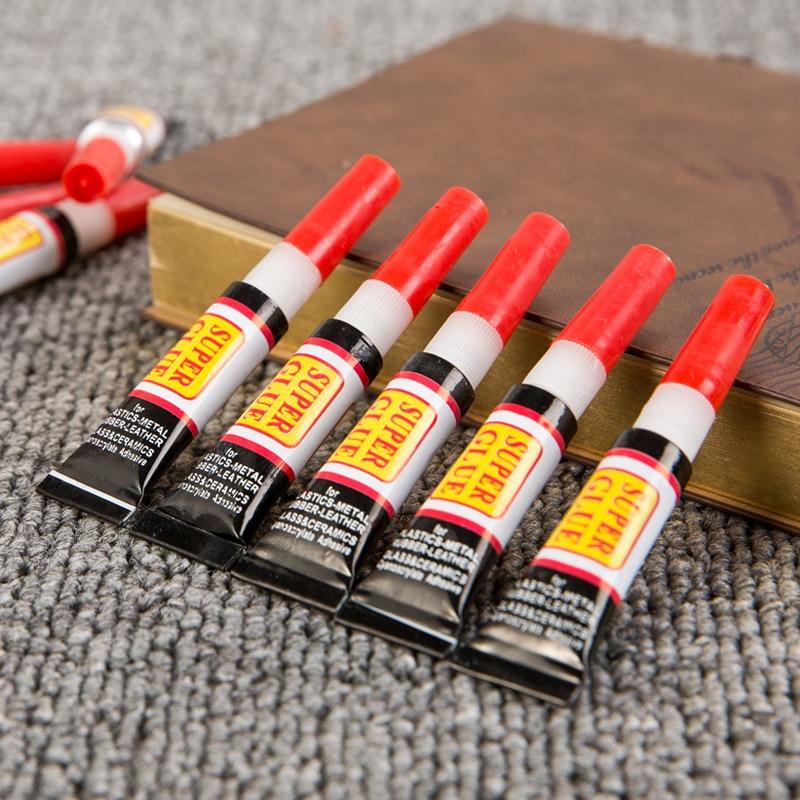 Lot de 10 pièces de Colle Super Glue 502 Instantanée Cyanoacrylate