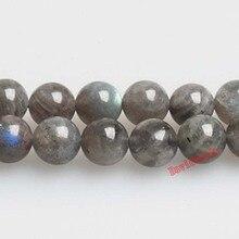 """Натуральный камень класса АА голубой лабрадорит Круглые бусины 1"""" нить 4 6 8 10 12 мм выбрать размер для ювелирных изделий"""