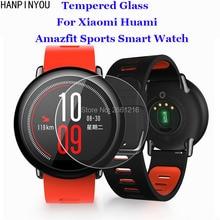 For Xiaomi Huami font b Amazfit b font Sports SmartWatch Tempered Glass 9H 2 5D Premium