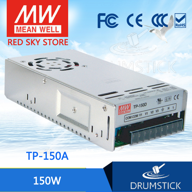 hot-selling MEAN WELL TP-150A meanwell TP-150 150W Triple Output with PFC Function Power Supply