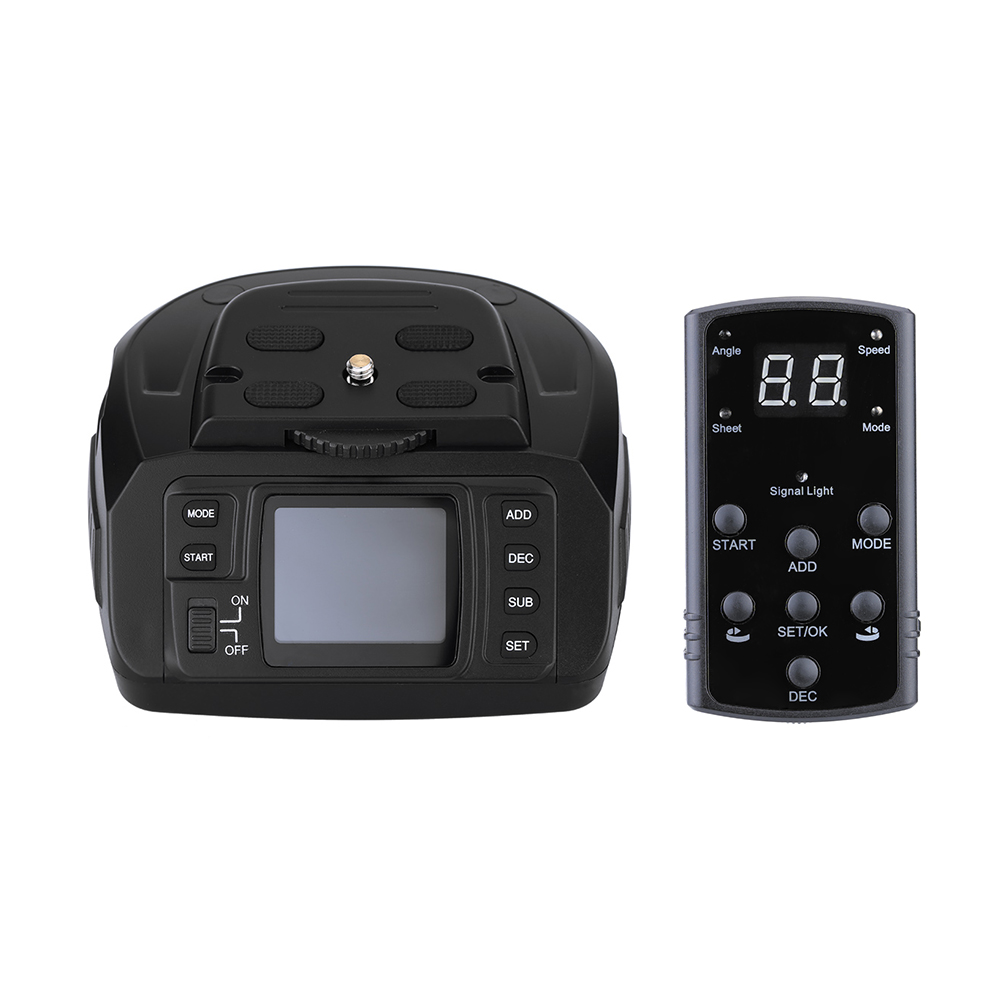 Andoer Tripod AD 10 Automatic Panoramic Head Electronic Camera 360 Degree Automatic Motorized Tripod Ballhead for