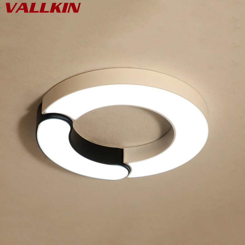Bedroom Lamp LED Ceiling Lights Simple Modern Home Lighting Creative Personality Round Study Restaurant Living Room Lighting стоимость