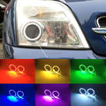 Для Opel Vectra C 2002 2003 2004 Отличные RGB led Angel Eyes комплект Multi-Color Ультра яркий 7 Цветов LED Angel Eyes Halo Кольцо комплект