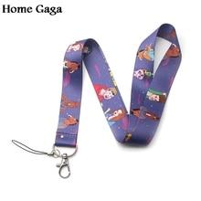 Homegaga BoJack Horseman cartoon lanyards neck straps for phones keys bags cameras id card holders keychain webbing ribbon D1871