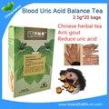 1 коробка = 20 пакета(ов) пакетики лечения Подагры помощи страдает Мочевой Кислоты в Крови, Чай Баланс лечения подагры/Подагра ноги чай