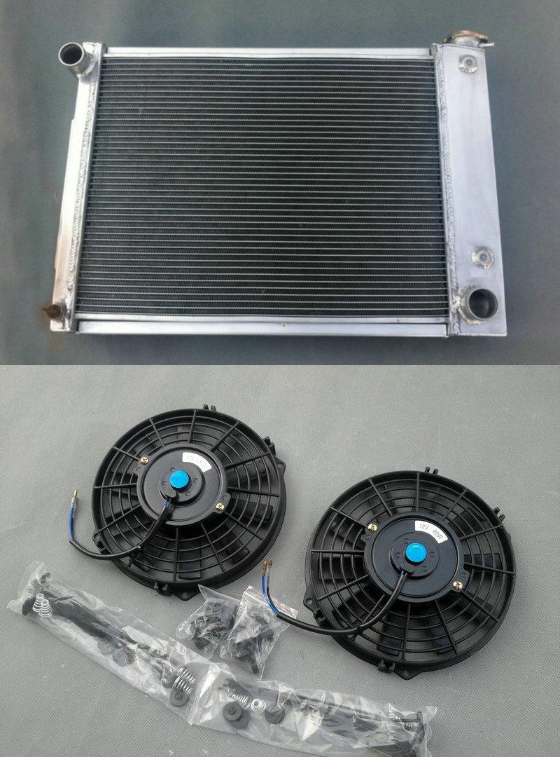 3 Row For 1967-1969 Chevy Camaro//Firebird T//A 5.3L-5.7L V8 Aluminum Radiator 68