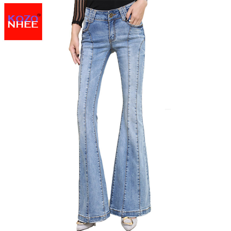 Womens Flare Jeans Long Promotion-Shop for Promotional Womens ...