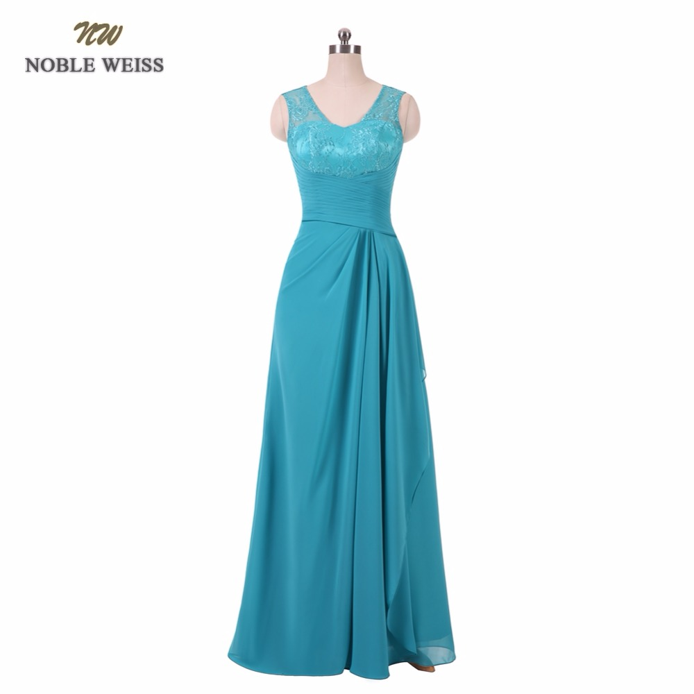 NOBLE WEISS 2019 Sexy Floor Length A Line Green Lace Pleat Evening Dress Robe De Soiree