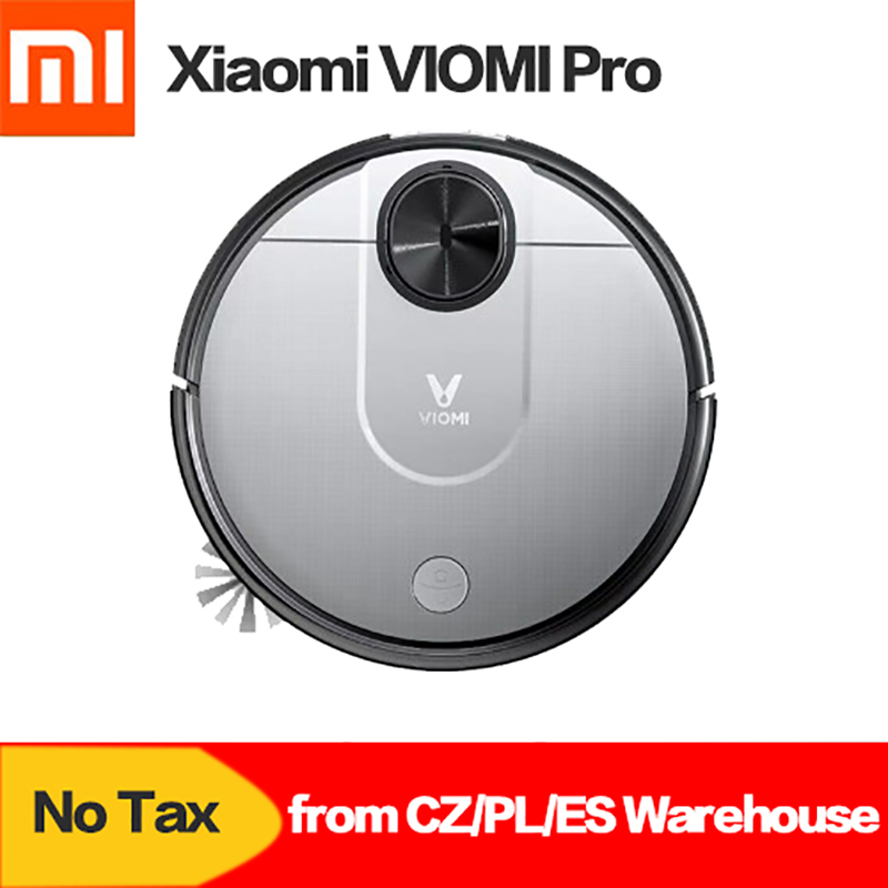 Xiaomi VIOMI V2 Robot Vacuum Cleaner Mi Robot Automatic Sweeping and Mopping Intelligent Household Cleaner App