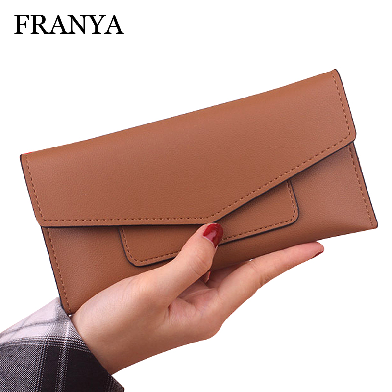 New Fashion Women Wallet Candy Colors Panelled Design Ladies Wallet High Korean Hasp Zipper Purse Clutch Coin Pocket Card Holder casual weaving design card holder handbag hasp wallet for women