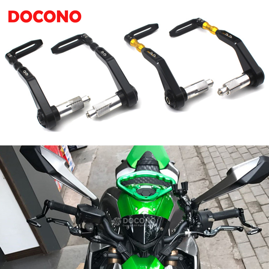 Universal Motorcycle CNC Brake Clutch Levers Guard Protector For yamaha sr400 tdm 850 900 xjr 400 ktm duke 690 390 200 125