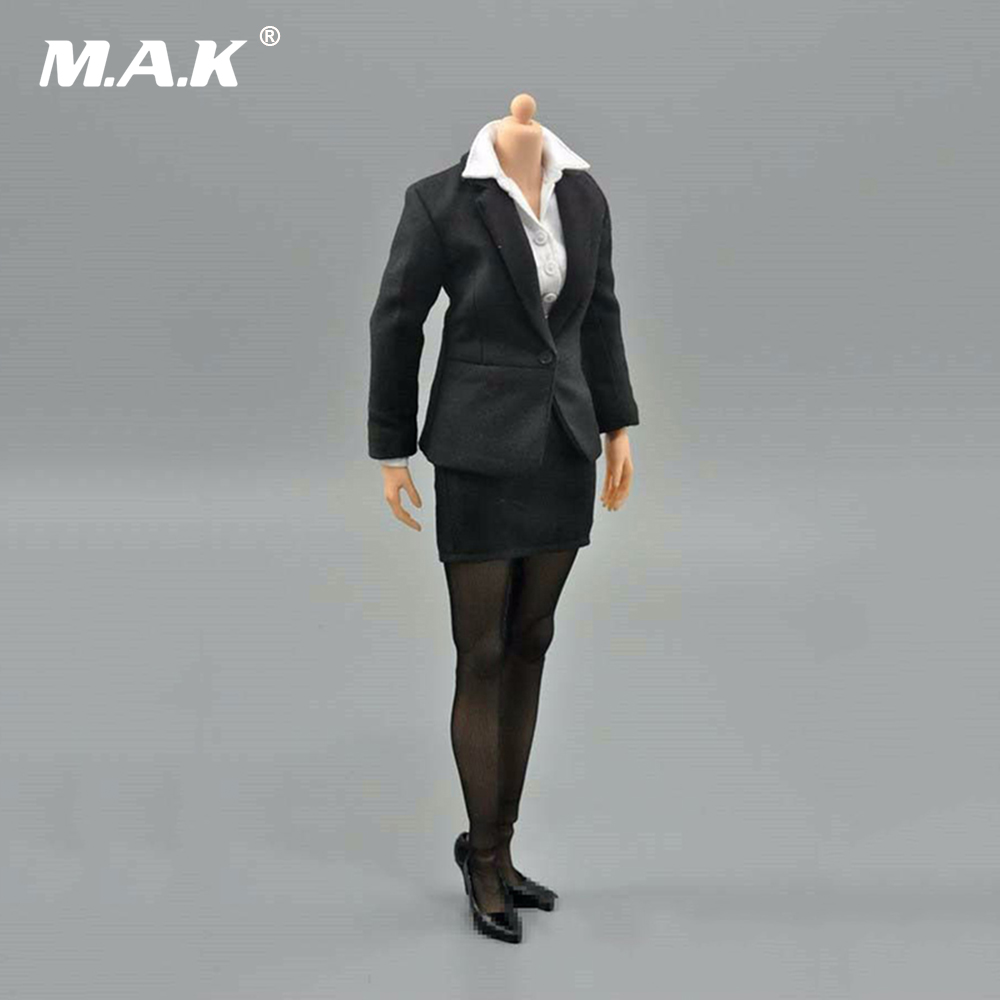 1/6 Female Business Office Pencil Skirt Suit Set Clothes Model Toys For 12 Female Action Figures Body Accessory1/6 Female Business Office Pencil Skirt Suit Set Clothes Model Toys For 12 Female Action Figures Body Accessory