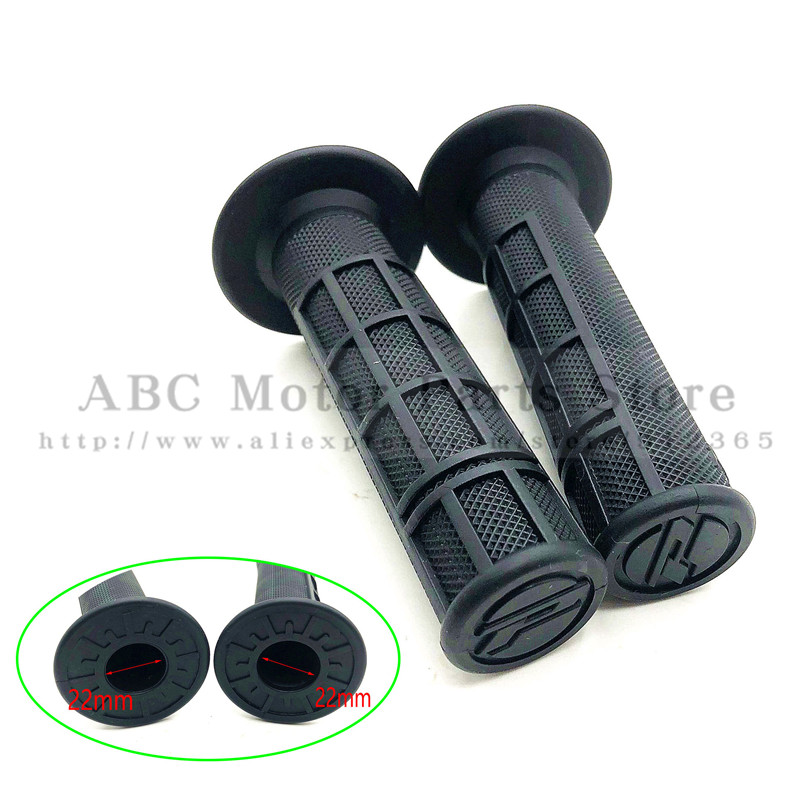 Handle Grip 22mm Grips Left And Right ATV Motorcycle Dirt Pit Bike Motocross 7/8