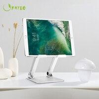 Senior Aluminum Alloy Tablet Holder Adjustable Folding Desktop Stand For iPad Air Mini Pro 11 12.9 inch Tablets Heighten Support