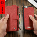 CaseMe Марка Натуральная Кожа Для iPhone 6 6 S 6 Plus Case Многофункциональный Бумажник Чехол Для Samsung Galaxy S6 S6edge S7edge Note5