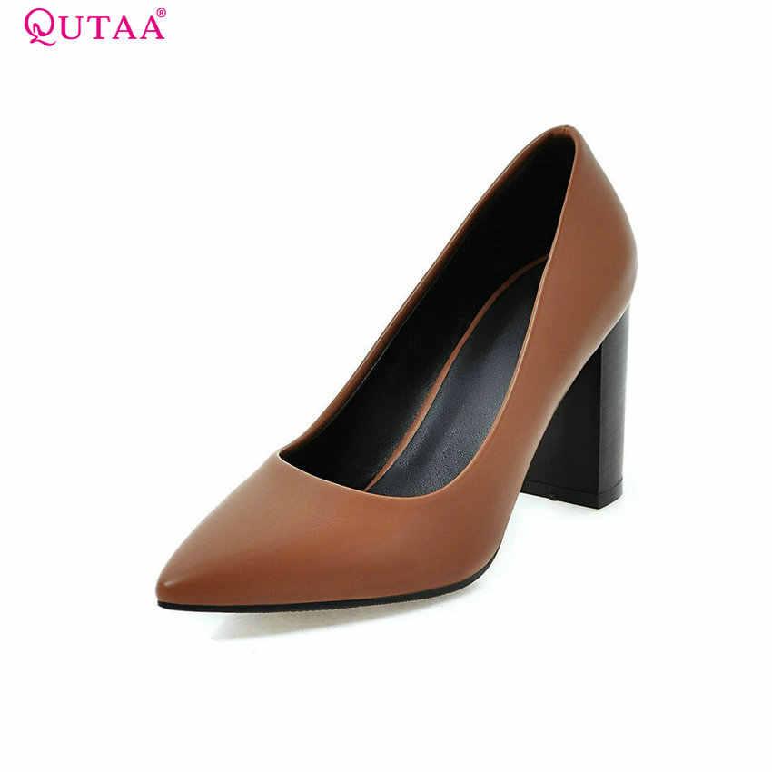 359136925c78 Подробнее Обратная связь Вопросы о QUTAA женские туфли лодочки ...